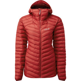 Rab Cirrus Alpine Jakke Damer, ascent red